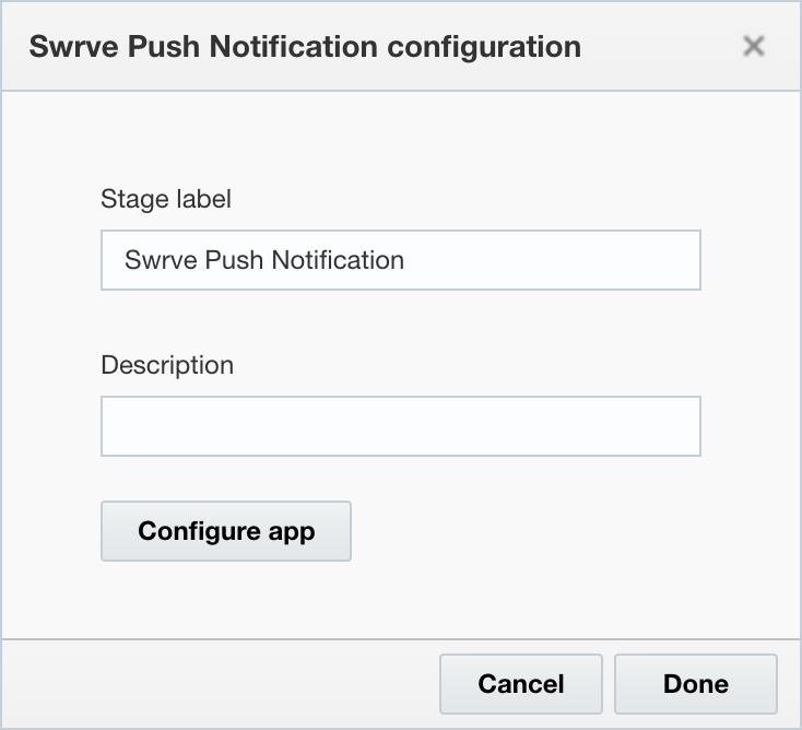 Configure app