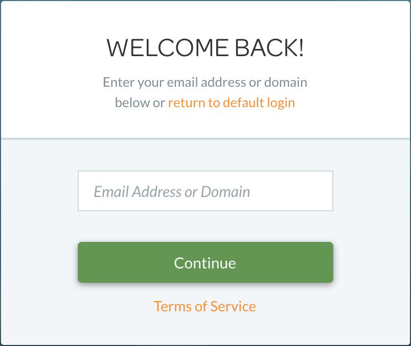 Swrve login using SSO credentials
