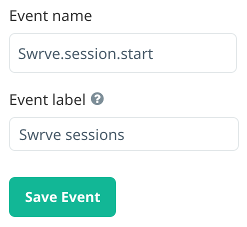 Using session start event for payload targeting